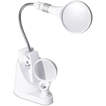 Ottlite 43828c 2 In 1 Led Magnifier Light Floor And Table