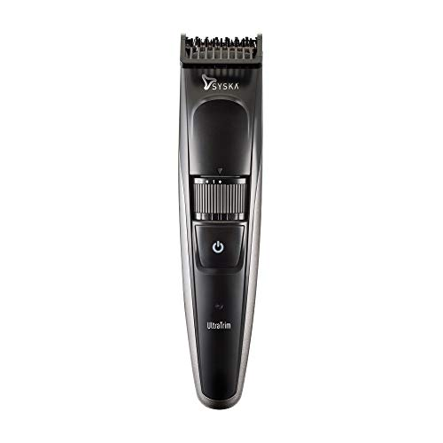 Syska HT800 Cordless Trimmer for Men  Black