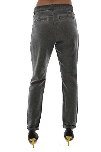 pantalons esprit casual chino slim gris