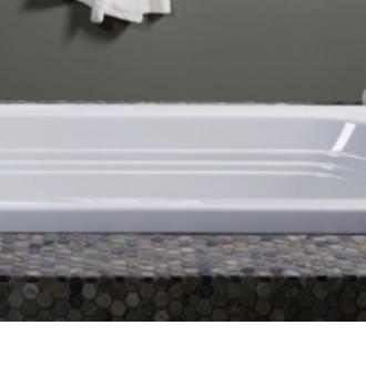 Jacuzzi LXS6030BLXXXXY 60 Inch X 30 Inch Luxura Three Wall Alcove Soaking  Bathtub With