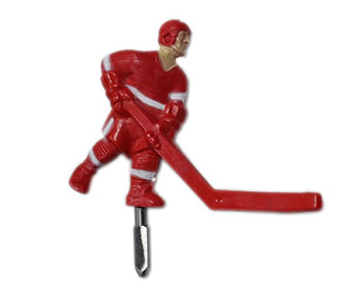 Super Chexx Russian Red Player with Short Stick