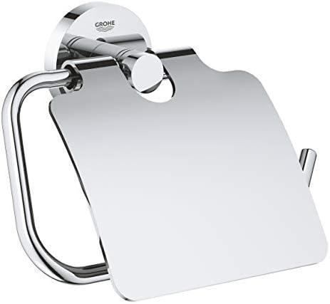 Import Al GROHE Porte-Rouleau de Papier avec Couvercle Essentials 40367001