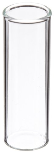 (JG Finneran 4100-1545 Borosilicate Glass Shell Vial, 4.0mL Capacity, 15mm Diameter, 45mm Height, 15mm Plug, Clear (Case of)
