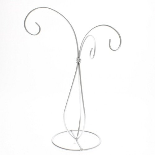 ornament display stand silver - 9