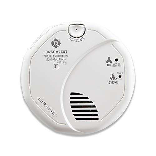 First Alert Hardwired Talking Photoelectric Smoke and Carbon Monoxide Detector