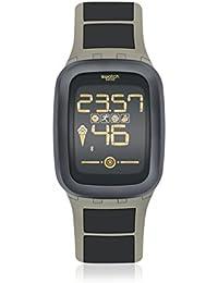 Grey Earthzero Touch Zero Alarm Chronograph Swiss Digital Smart Watch