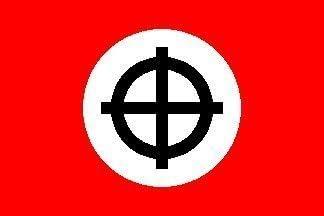 Croix celtique Rouge 91 cm x 2 cm x 2 cm-Drapeau avec /œillets de haute qualit/é