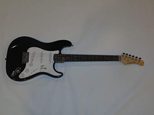 Bruce Hornsby Autographed Signed Black Electric Strat Guitar Noisemakers JSA COA - Certified Authentic -