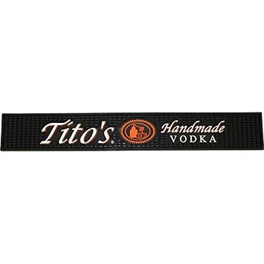 Tito's Vodka Rail Runner Bar Drip Mat