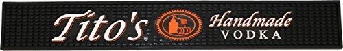 Logo Runner Mat - Tito's Vodka Rail Runner Bar Drip Mat