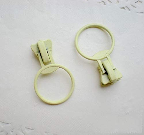 MINGTAI 100PCS 5#5Vメタルジッパースライダージッパーヘッド亜鉛合金、樹脂ファスナー置き換え迫るDIYクラフト布バッグの修理縫製ジッパー (Color : 2)