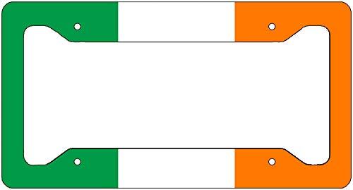 Rogue River Tactical Ireland Flag License Plate Frame Novelty Auto Car Tag Vanity Gift Irish Flag