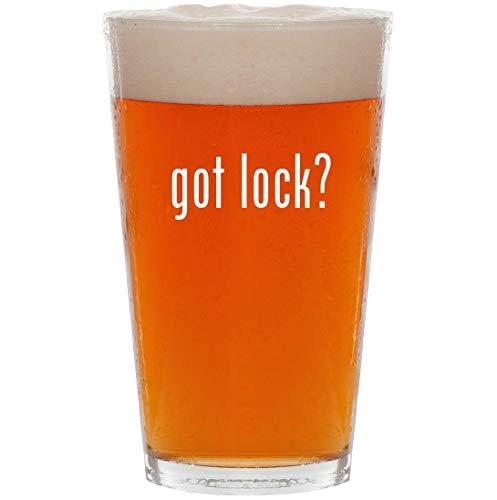 got lock? - 16oz All Purpose Pint Beer Glass