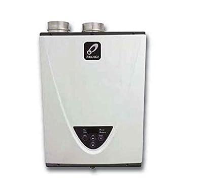 Takagi T-H3-DV-P Condensing High Efficiency Propane Indoor Tankless Water Heater, 10-Gallon Per Minute