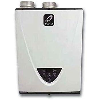Takagi T-H3-DV-N Condensing High Efficiency Natural Gas Indoor Tankless  Water Heater, 10-Gallon Per Minute