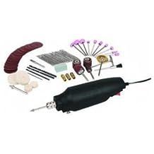 80 Pc Rotary Tool Kit Craft Drill Grind Glass Jewelry Cut Metal fits Dremel Bits