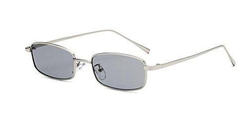 vintage style cercle rond en soleil Lennon retro polarisées lunettes Grise métallique inspirées Pièce de du vUqxX07