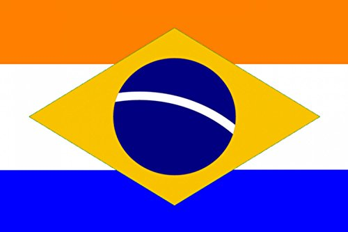 Dutch Coat Of Arms (magFlags Large Flag Dutch Brazil variant | landscape flag | 1.35m² | 14.5sqft | 90x150cm | 3x5ft -- 100% Made in Germany -- long lasting outdoor flag)