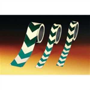 Markierungsband Folie langnachleuchtend mit grünem Richtungspfeil 3cm 16m//Rolle