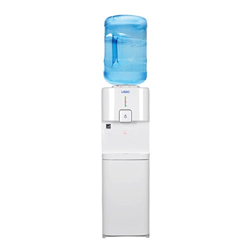 Lago Top Load Hot, Cold & Room White Water Cooler Dispenser by LAGO