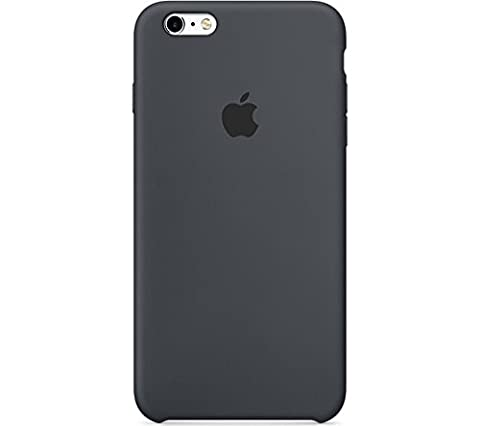 Apple Cell Phone Case for iPhone 6 Plus & 6s Plus - Retail Packaging - Charcoal Gray (Apple Cell Phones 6 Plus)