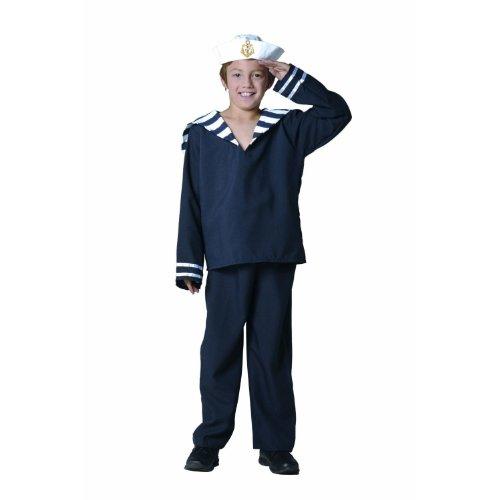 RG Costumes Sailor Boy Costume, Navy/White, Medium -