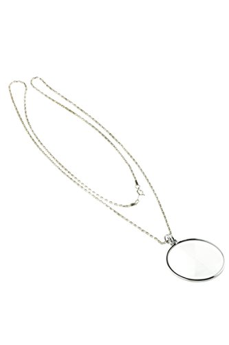 se-mg2016s-4x-pendant-magnifier-with-36-silver-chain-necklace-1-3-4-glass-lens-dia