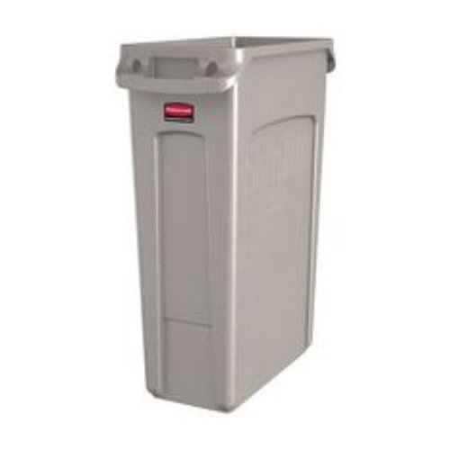 Rubbermaid Slim Jim Waste Container, 87 L - Grey
