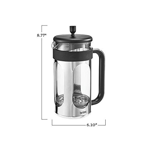 brim 8 Cup 34 Ounce French Press Coffee Maker