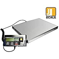 Jennings J-Ship 332 Lb Bench / Shipping / Postal Scale by Jennings