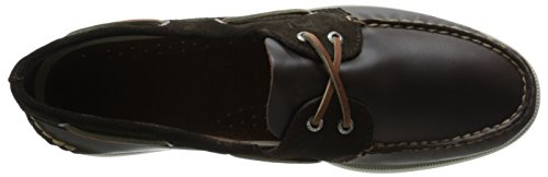 Sperry Top-Sider Authentic Original del Hombre TWO-EYE Cyclone Boat Shoe Marrón