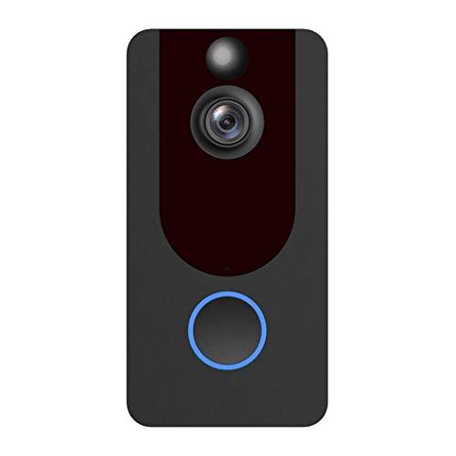(JIN+D V7 1080P Smart WiFi Security Doorbell Wireless Video Camera+Wireless Doorbell EU)