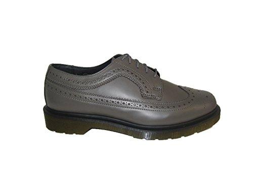 3989 Martens Charcoal Scarpe tomaia in ecopelle modello sneakers colore Dr unisex VEGAN grigio basse wfqIq1axY