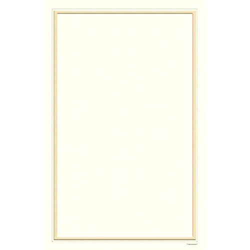Amscan Party Perfect Ivory Pearl Printable Wedding Invitation Sheets (Pack of 25), Ivory, 8 1/2