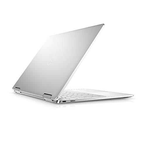 Dell XPS 13 2-in-1, 13.4 inch FHD+ Touch Laptop - Intel Core i7-1065G7, 8GB LPDDR4 RAM, 256GB SSD HD, Intel iris, Windows 10 Home - Frost (Latest Model)