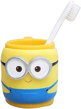 Yuesheng Kids Toothbrush Cup Cartoon Style Cute Mouthwash Cup Bathroom-Tumbler Toothbrush Holder Doraemon