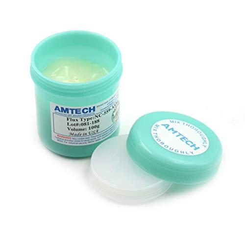 Cacys-Store - New 1pcs NC-559-ASM Solder Flux Paste Soldering Tin Cream Green Bottle 100g