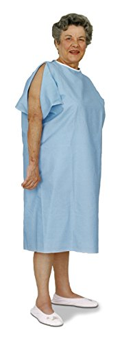 Essential Medical Supply Reusable Patient Gown with IV Op...