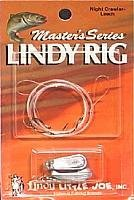 Lindy Master Series Walleye Crawler / Leech Rig, 1/2 OZ.