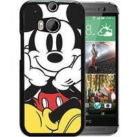 HTC One M8 case,Custom Mickey Mouse 8 Black HTC One M8 cover