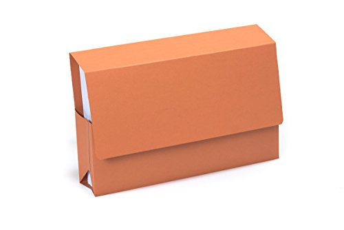 (Exacompta Guildhall Probate Wallets, 315 GSM, Foolscap - Orange, Pack of 25)