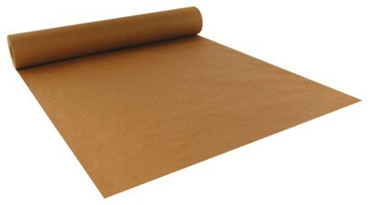 4 Rolls - Brown Kraft Paper Roll, 2.5 Feet X 15 Feet ~ Made in USA ~