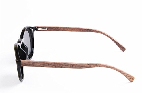 Todo Moda de D de Madera uno GCC Sol de Lente bambú en Gafas de Gafas IHqg5wt