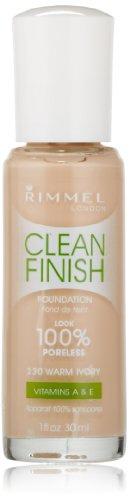 Rimmel Clean Finish Foundation, Warm Ivory
