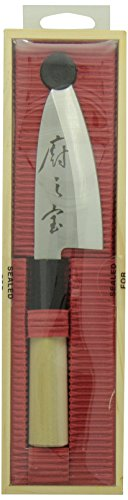 Mercer Culinary Asian Collection Deba Knife, 4-inch by Mercer Culinary (Image #1)