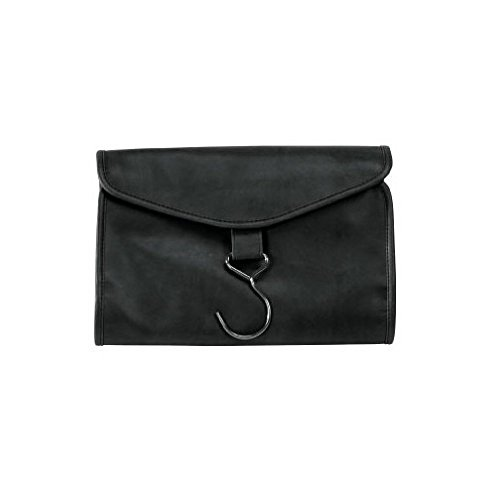 Royce Leather Hanging Toiletry Bag (Black) by Royce Leather
