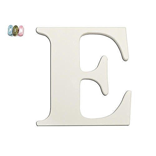For Nursery Letters Wooden White (Babies R Us E Wooden Personalizable Letter Wall Decor White)