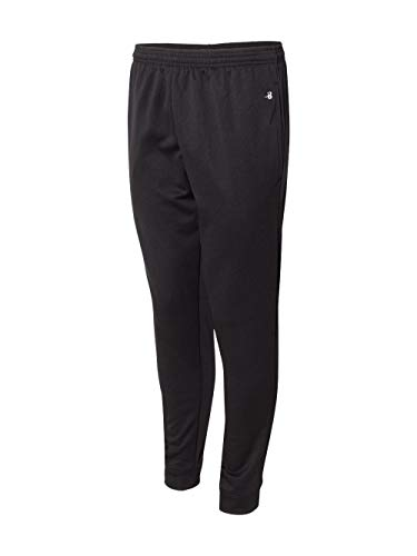 (Badger 1475 Perfomance Fleece Jogger Pant Black)