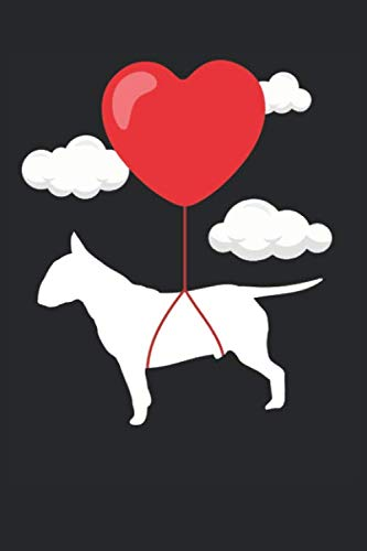 Bull Terrier Notebook - Valentine's Day Gift for Bull Terrier Lovers - Bull Terrier Journal: Medium College-Ruled Journey Diary, 110 page, Lined, 6x9 (15.2 x 22.9 cm) (Terrier Journal)