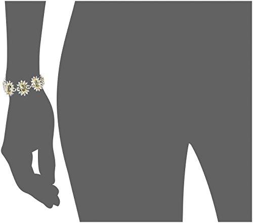 Mawi London - SS13_C_BCLT03ASM - Bracelet Femme - Laiton - Cristal Swarovski